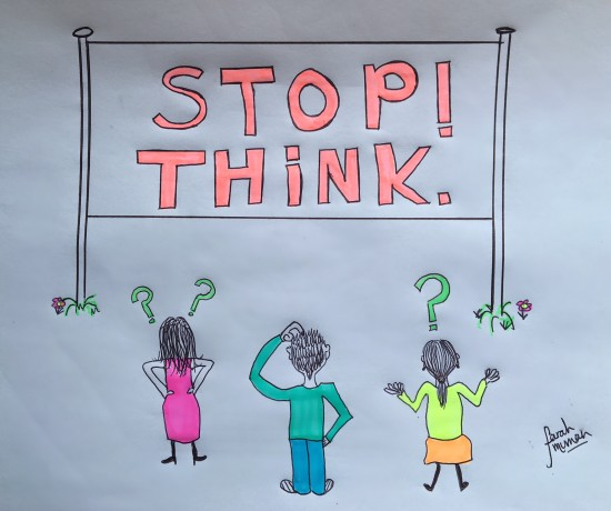 Stop! Think. Sketch Colour