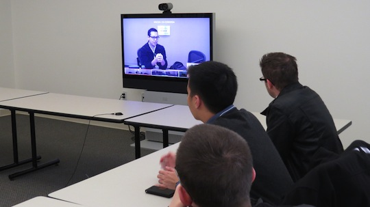 Cisco TelePresence session with 3 of last year's winners.