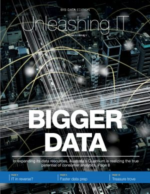 Unleashing IT - Bigger Data Edition