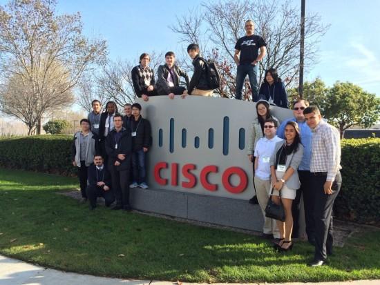 NetRiders winners earn a grand prize trip to Cisco's main campus in San Jose, California