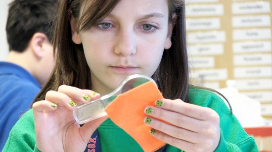 At EiE, students take part in fun, engaging STEM activities (Photo courtesy Boston Museum of Science)