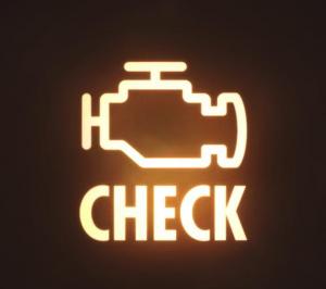engine check light