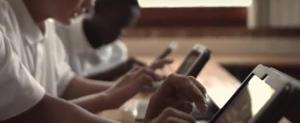 entrepreneurs at computer