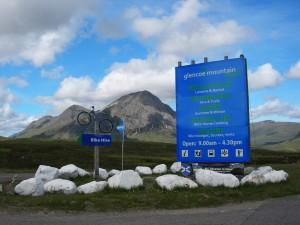 "Passing Glencoe Mountain Resort.  Scenes from James Bond ""Skyfall"" movie were filmed around here."