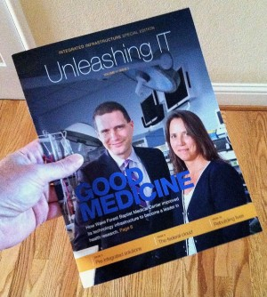 I was delighted when my hardcopy of Unleashing IT arrived in the mail