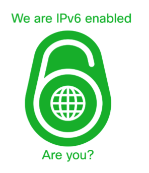 We are IPv6 enabled, are you?