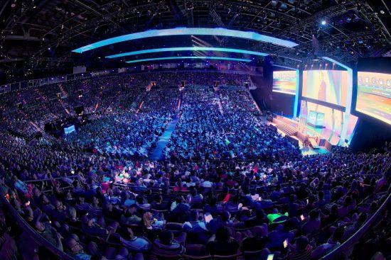 CLUS 2016 keynote crowd