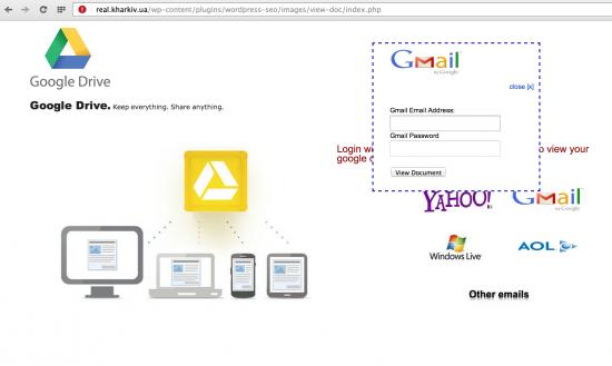 Improved Google Docs attack May 2014