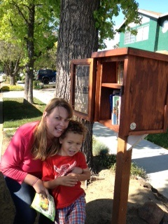 Stephanie Brown used social media to fundraise for the free library in San Jose, Calif.