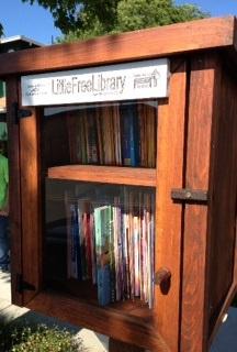 The Santa Teresa Foothills Little Free Library