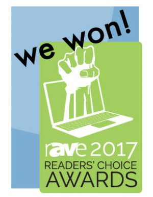 rave readers choice award