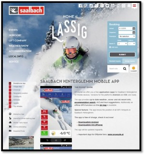 State of the Practice - Ski Resort Mobile Applications - IoT has arrived at major ski resorts worldwide, supported in many cases by ski slope Wi-Fi and 3G/4G services.