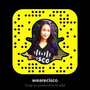 WeAreCisco Snapcode