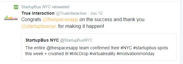 startupbus tweet