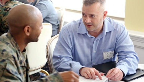 Cisco volunteers shared career tips with transitioning service members in North Carolina