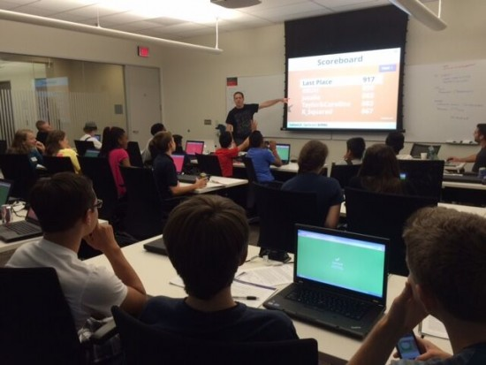On the final day of the CyberPatriot camp, students in attendance put their new skills to the test in an exciting cybersecurity competition.