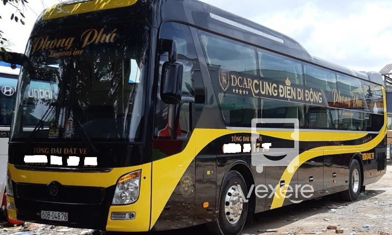 Xe Phong Phú đi Đà Lạt