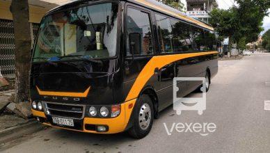 Xe A.Vương đi Đà Nẵng từ Quảng Ngãi: Xe limousine cao cấp hạng sang