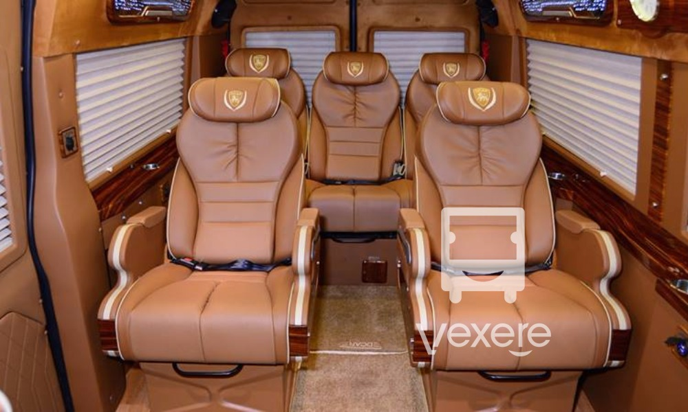 Nội thất xe Daily Limousine