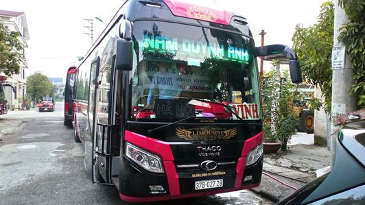 Xe Nam Quỳnh Anh đi Vinh từ Hà Nội