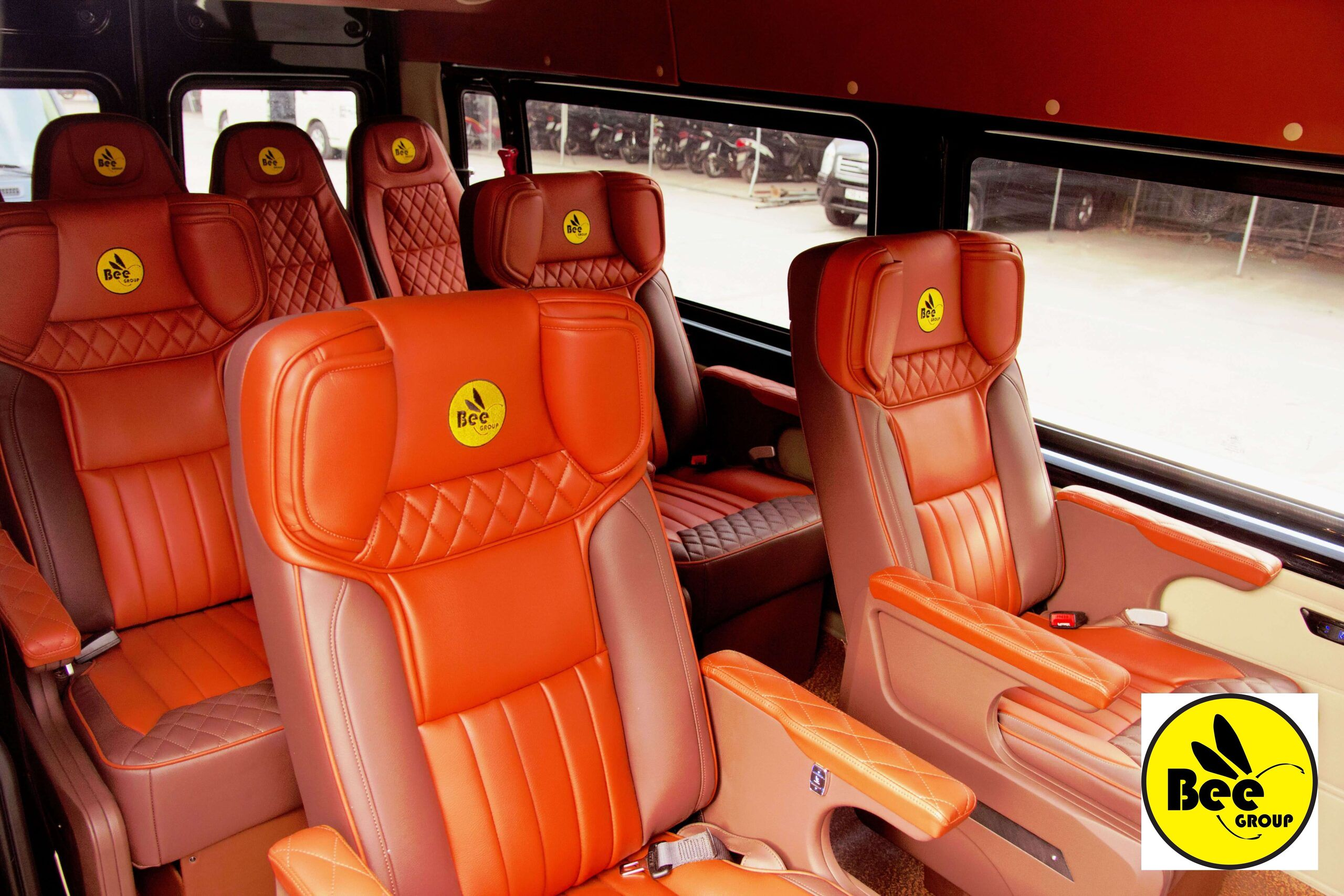 Nội thất xe BEEGROUP Limousine
