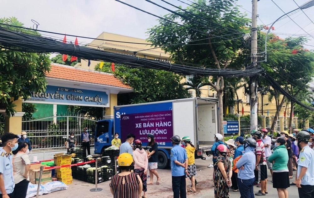 Xe bán hàng lưu động của AEON Việt Nam
