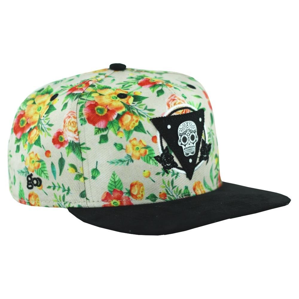 Boné Skull Flower - Go Caps