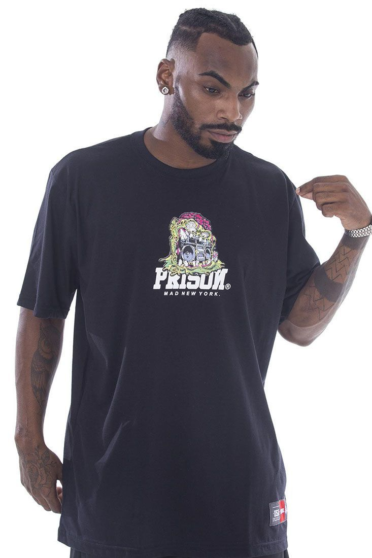 Camiseta Prison Dr. Green Preta