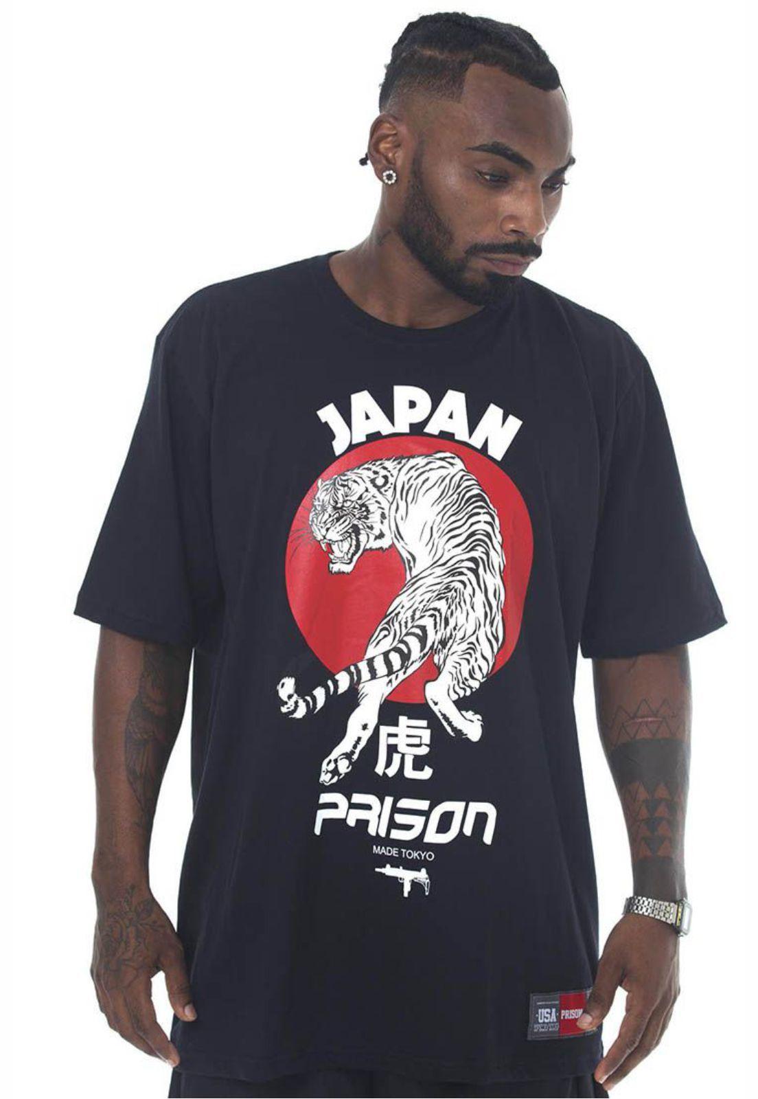 Camiseta Prison Sun Tokyo Preta