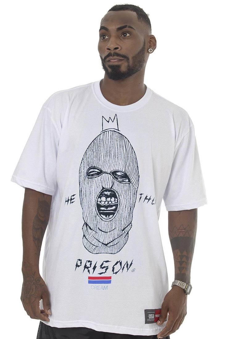 Camiseta Prison The Thug Branca