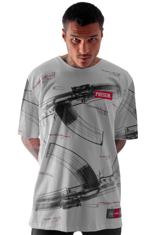 Camiseta Prison Total AK Branca