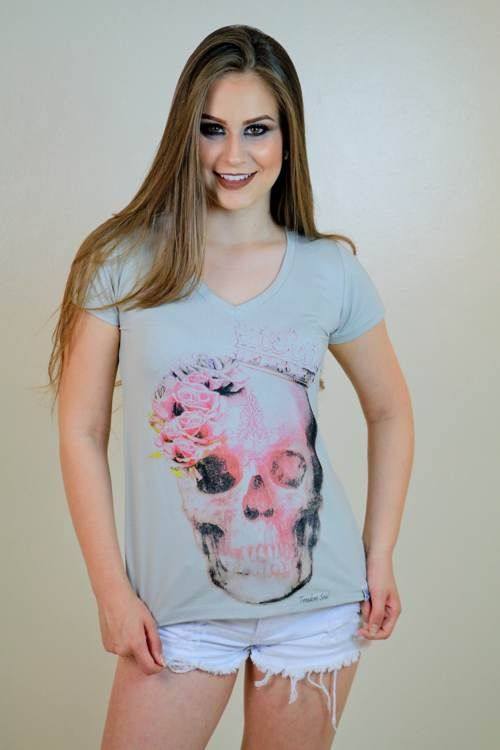 Blusa Queen Skull (Freedom Soul)