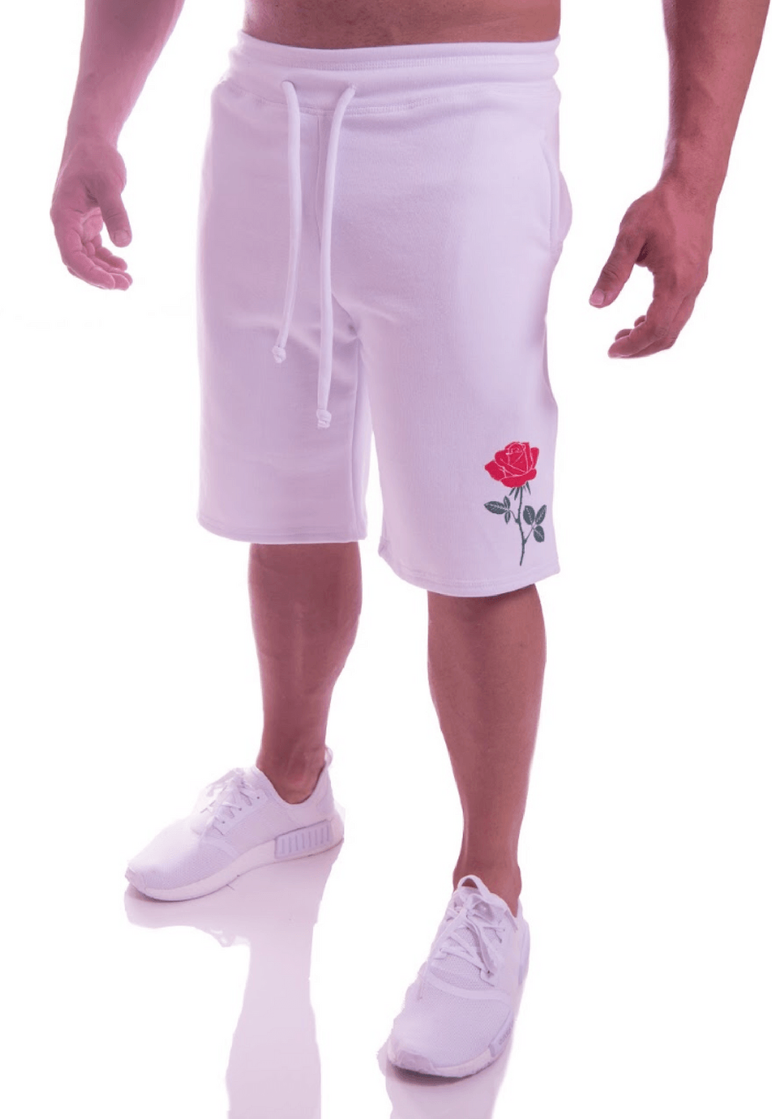 Bermuda Moletom Advance Clothing Flower Banca