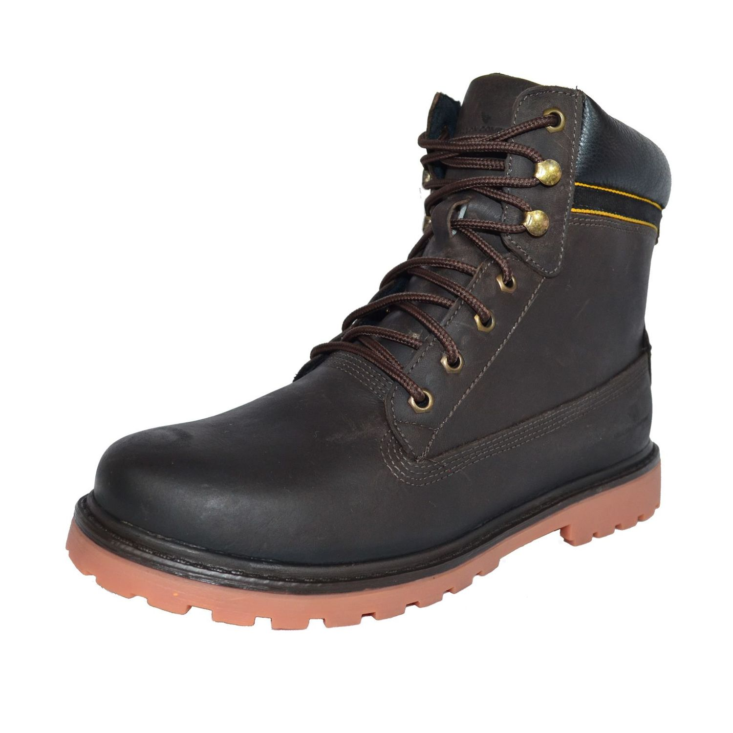 Bota Coturno Fallon & Co. Iron Head Marrom