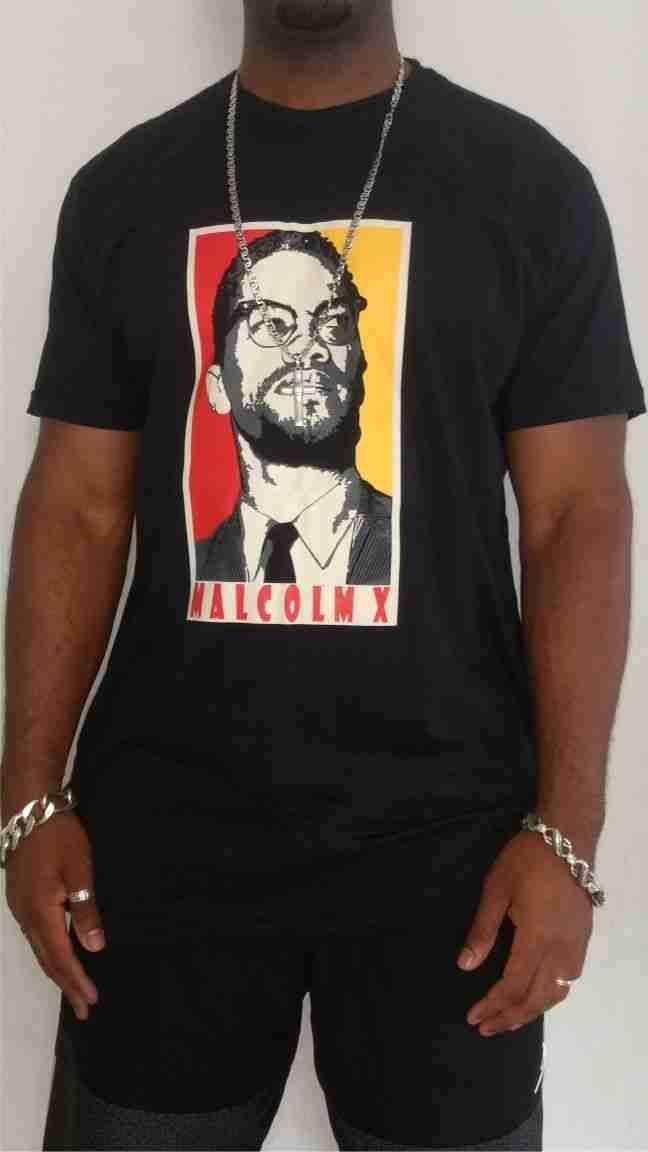 Camiseta Akanni Exclusive Malcolm X