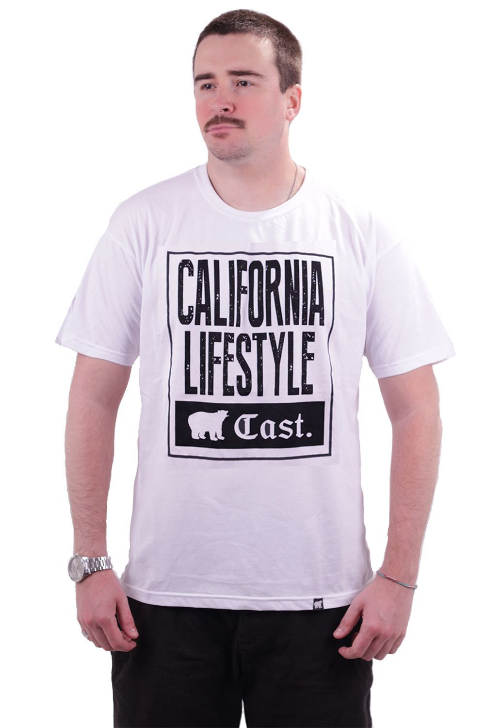 Camiseta Branca Cast. California Lifestyle