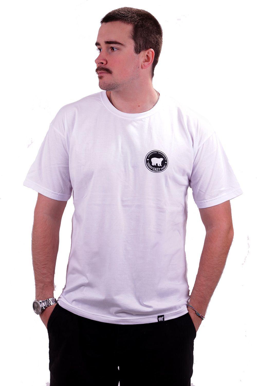 Camiseta Branca Cast. California Stars
