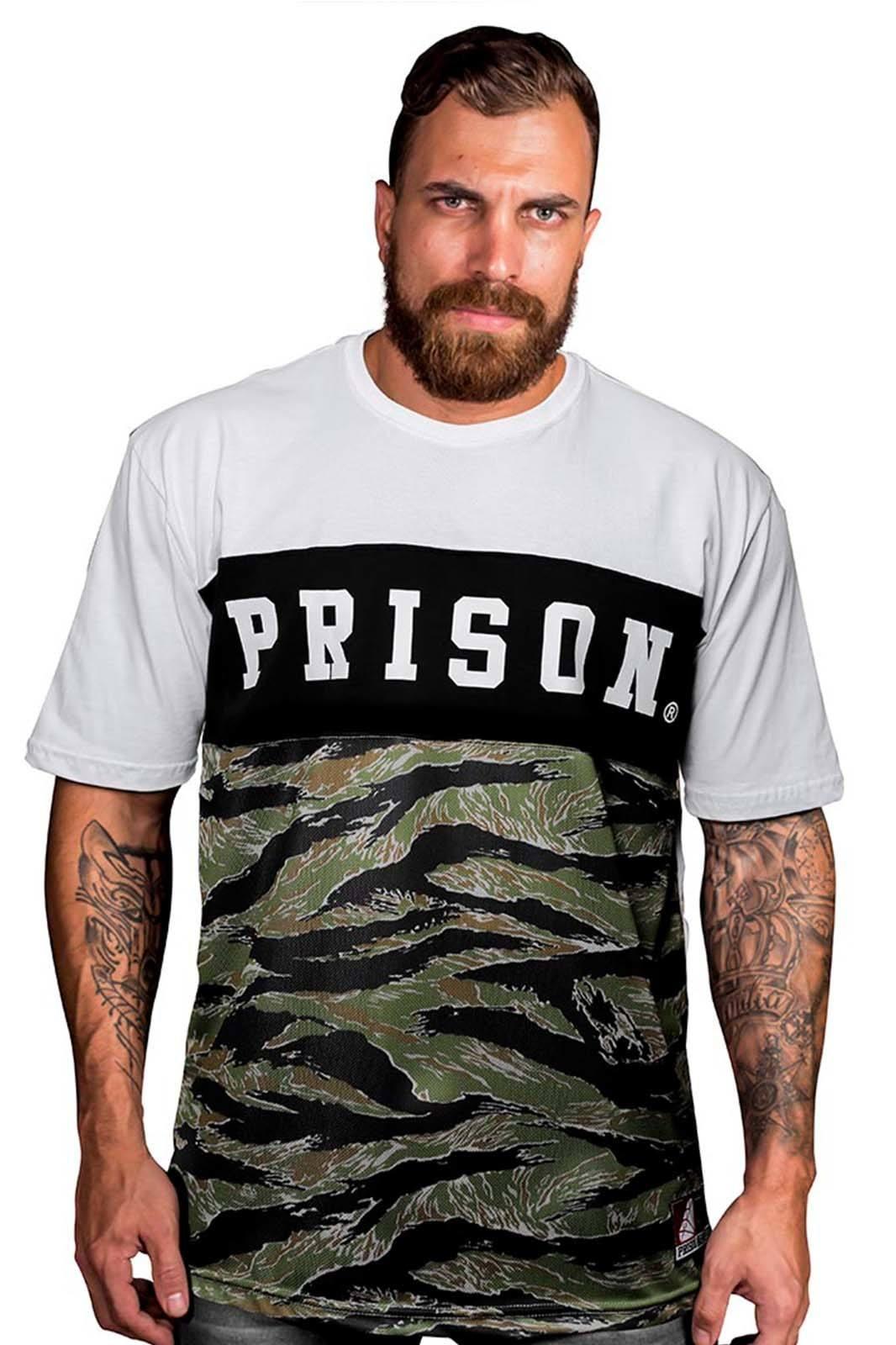 Camiseta Camuflada Street Prison