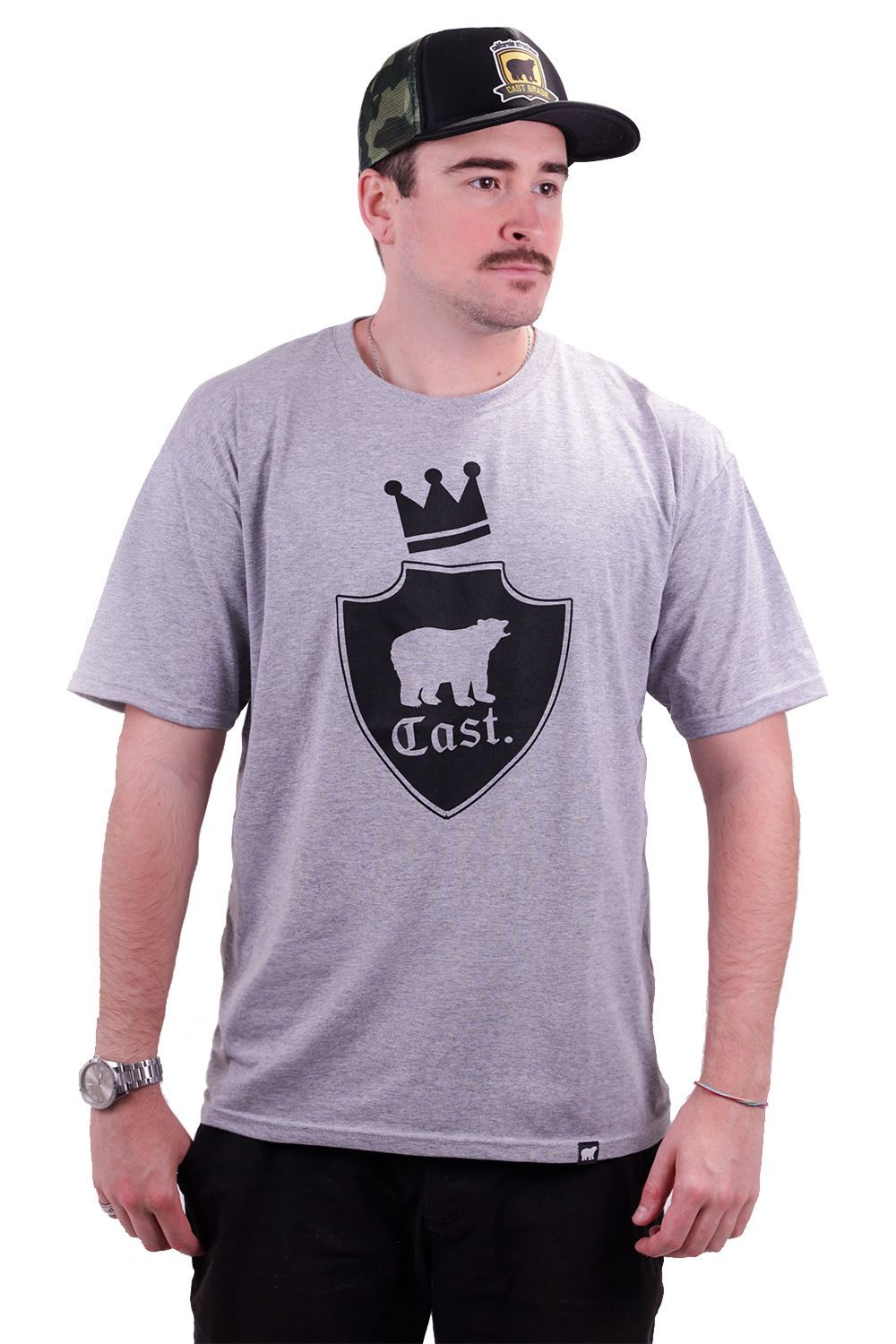 Camiseta Cast. Mescla King