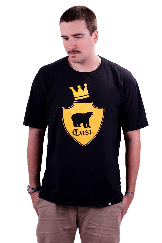 Camiseta Cast. Preta King