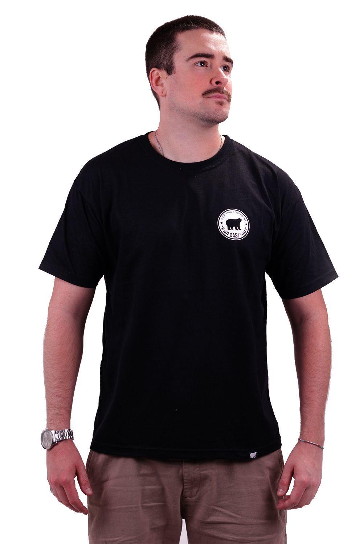 Camiseta Preta Cast. California Stars