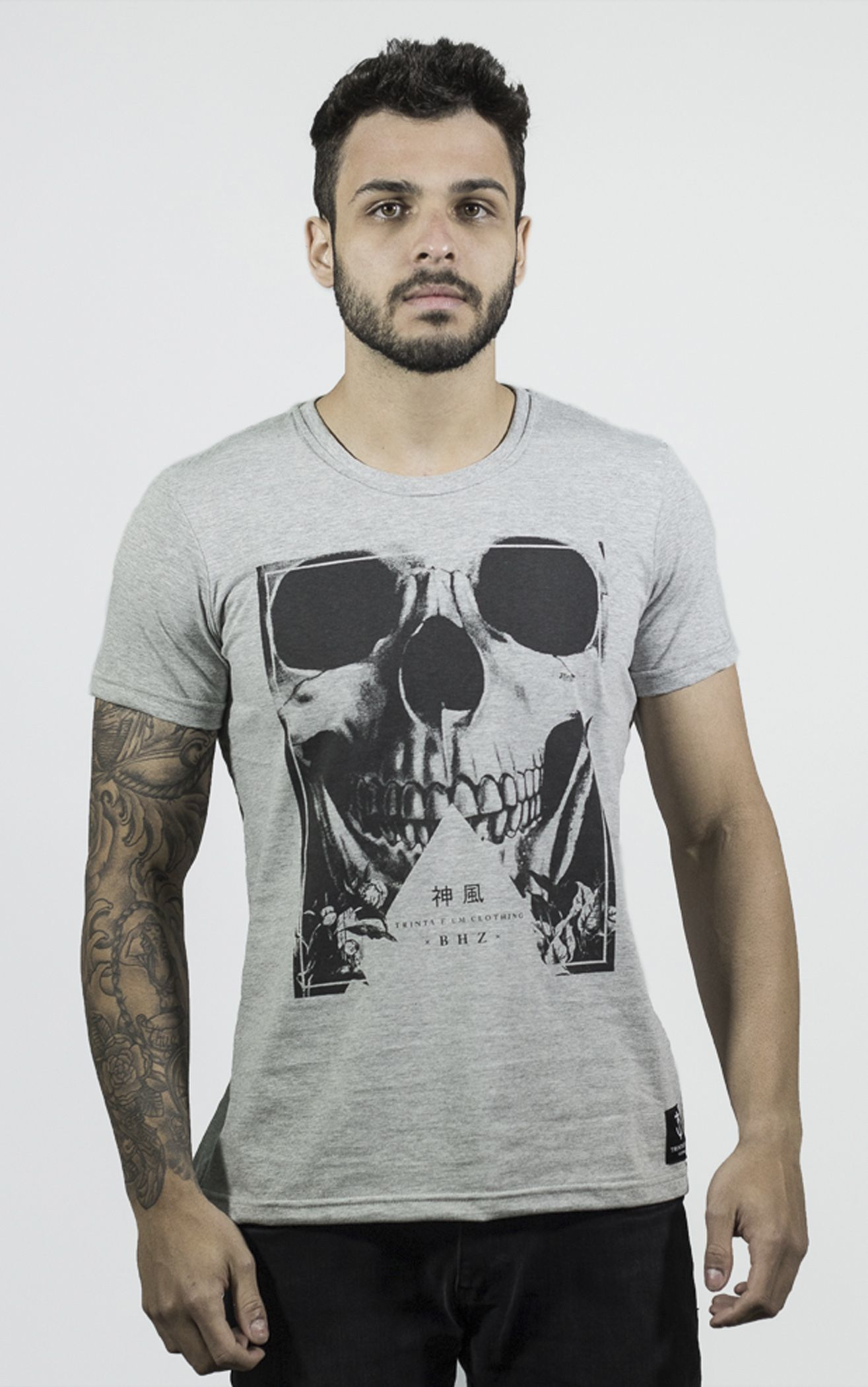 Camiseta SKULL - 31 CLOTHING