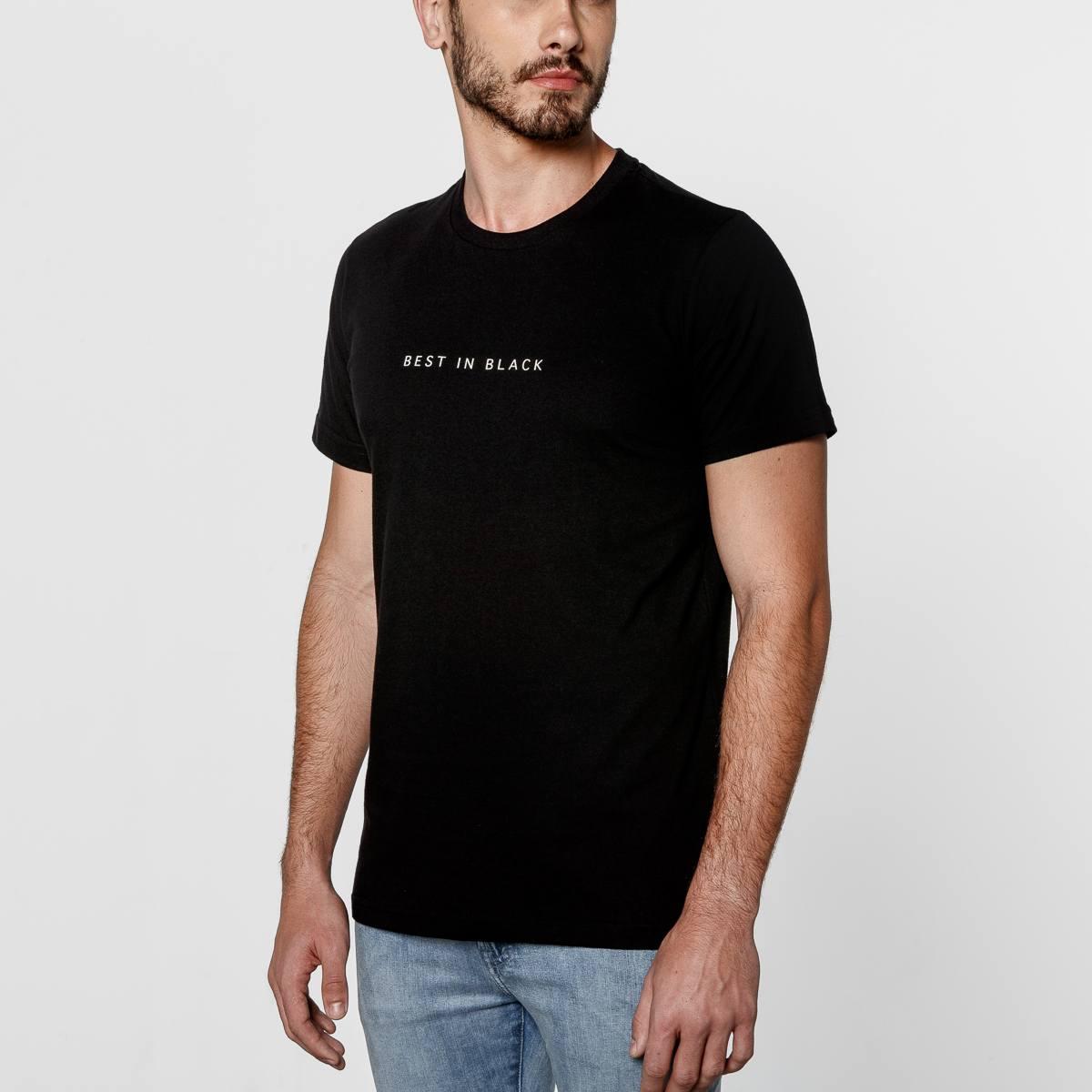 Camiseta Tresano Best in Black Slim Fit