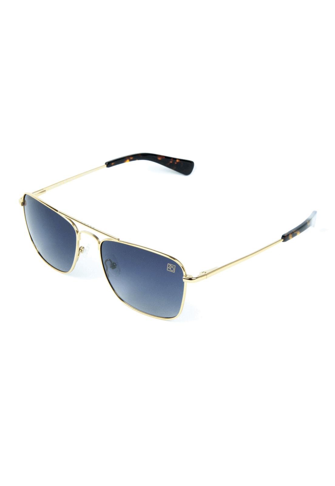 Óculos de Sol Polarizado Banhado a Ouro Zabô Lensk lente Black