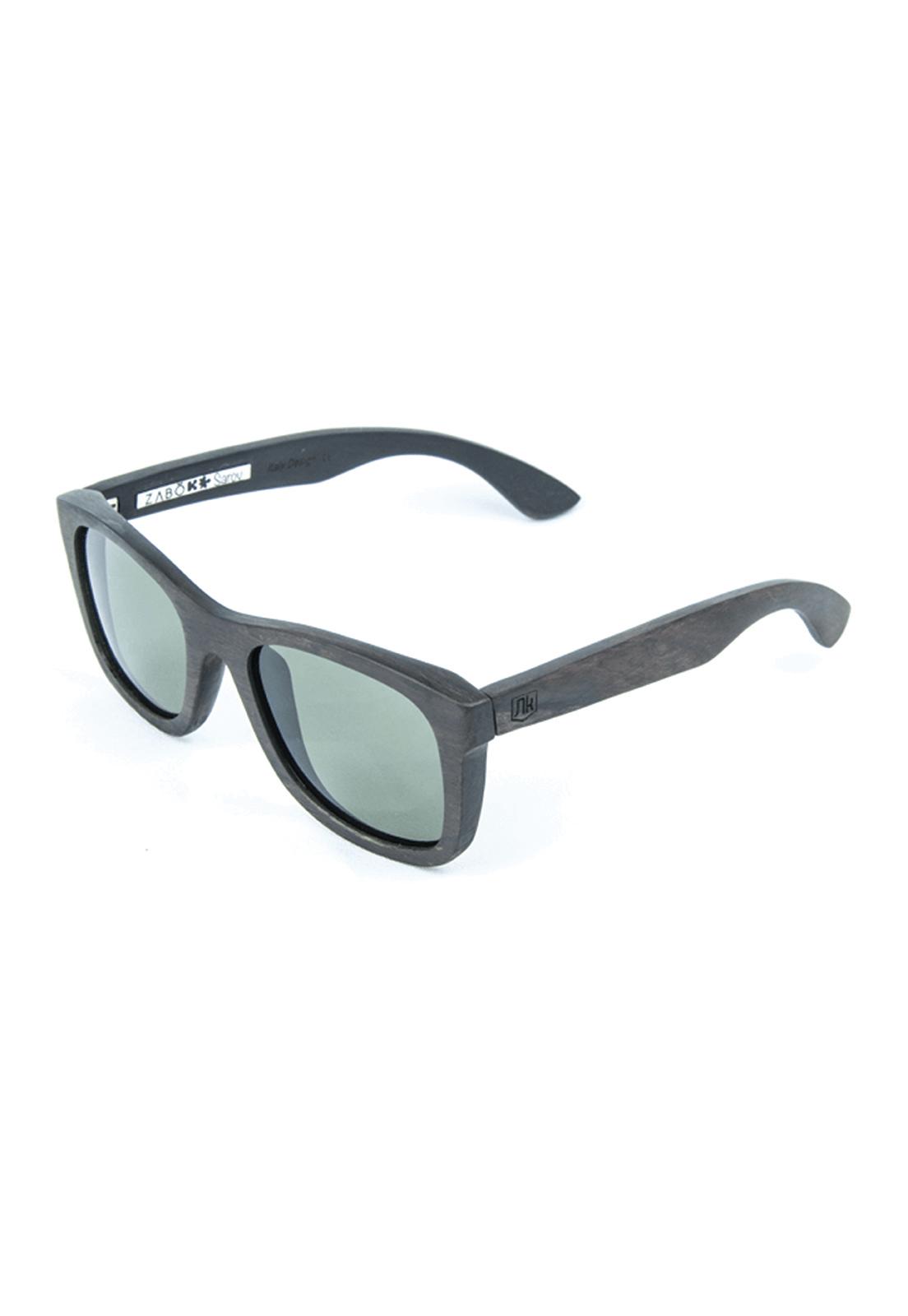Óculos de Sol Polarizado em Madeira Ébano Zabô Sarov