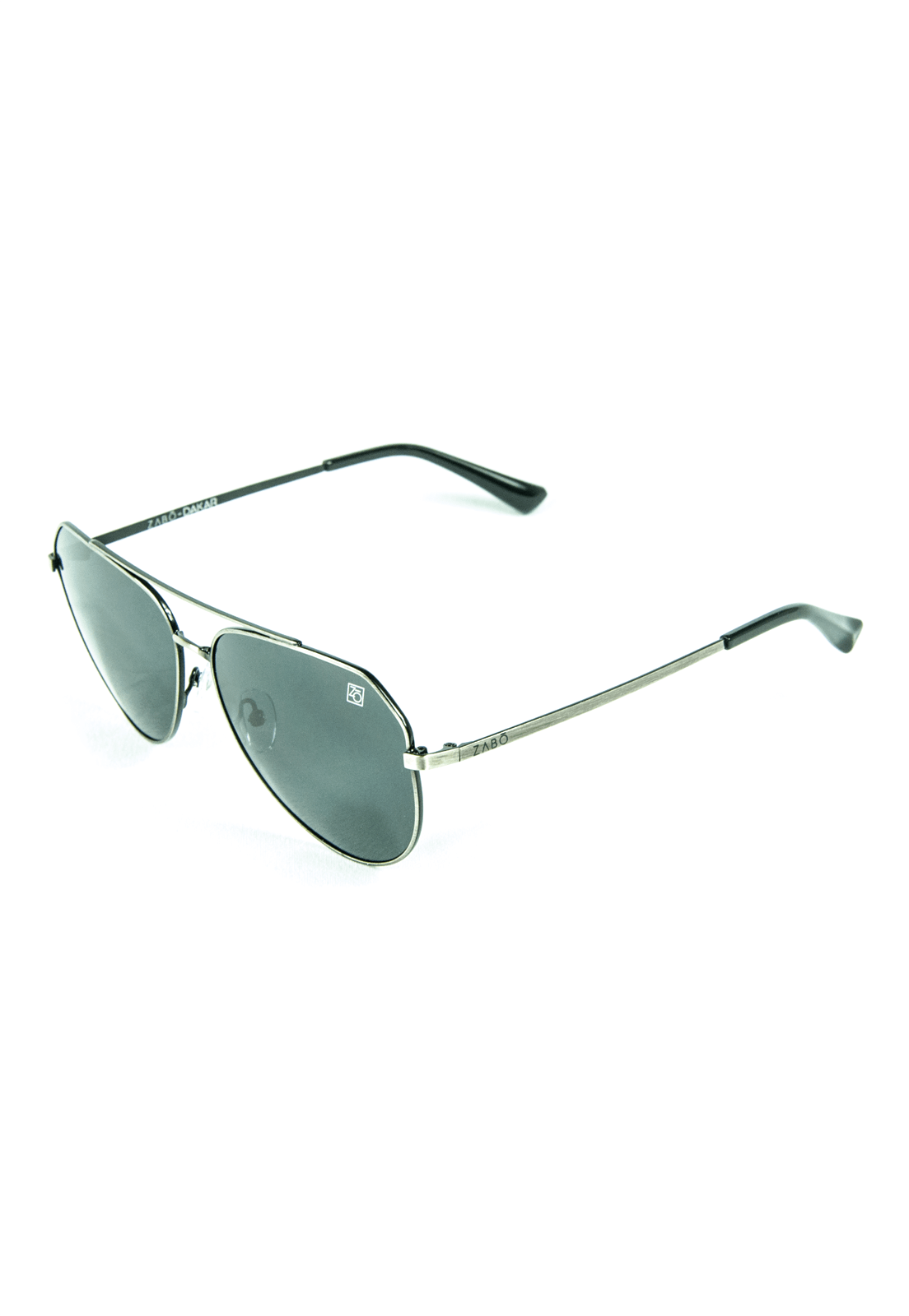 Óculos de Sol Polarizado Zabô Dakar Prateado