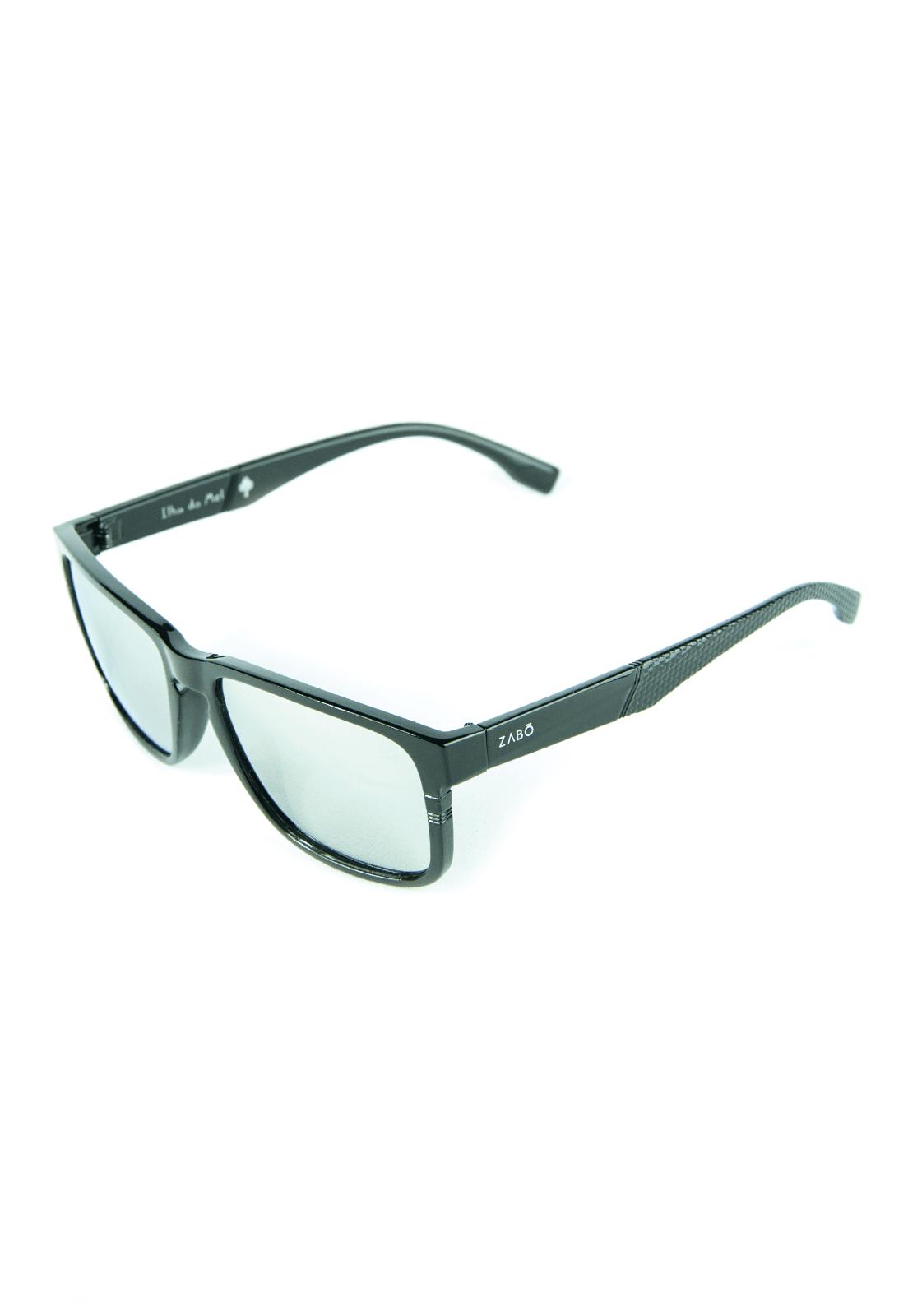 Óculos de Sol Polarizado Zabô Ilha do Mel Espelhado Prata
