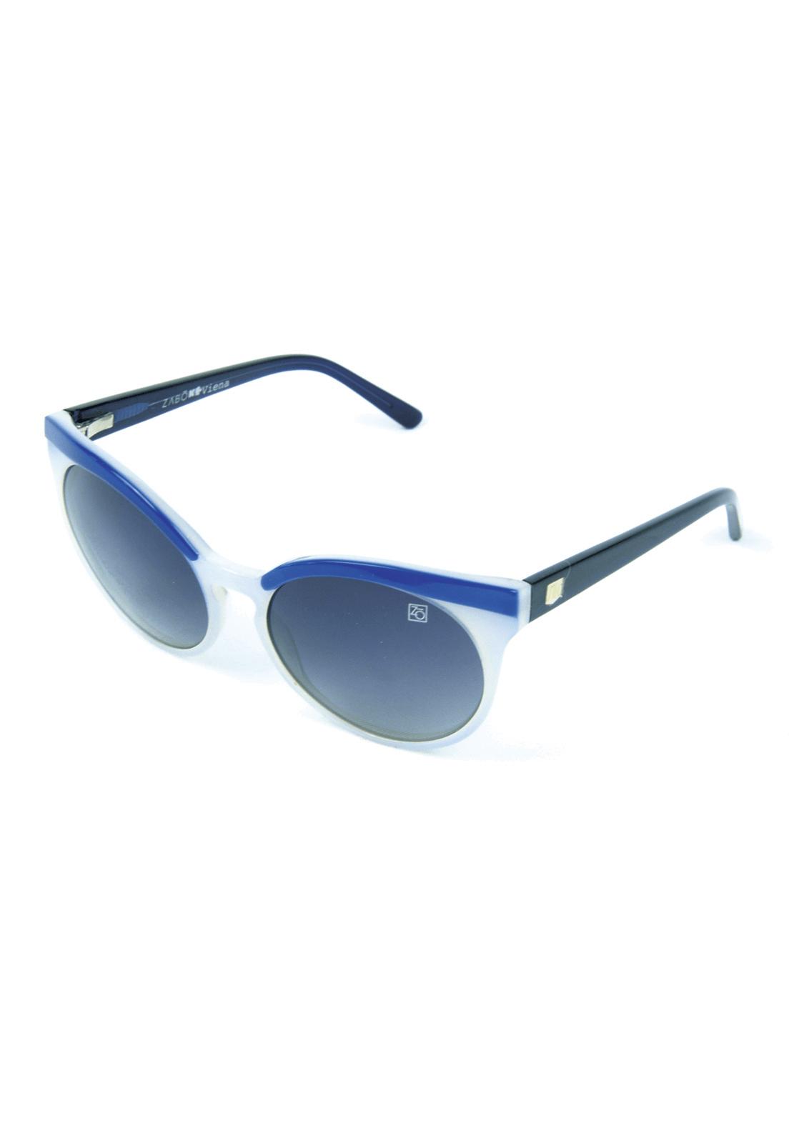 Óculos de Sol Polarizado Zabô Viena Branco