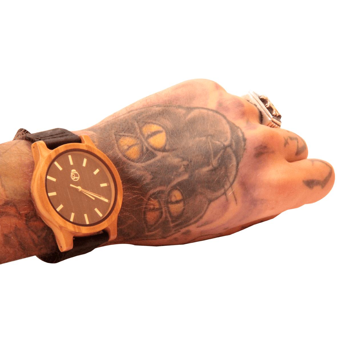 Relógio de Madeira Kief Company - Modelo Ericeira