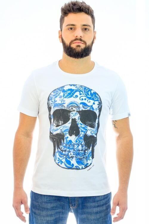 Camiseta Blue Skull (Freedom Soul)